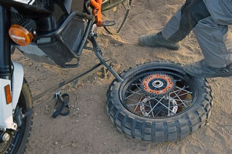 breaking bead on motorcycle tire five tips to help you deal with a flat on type tires