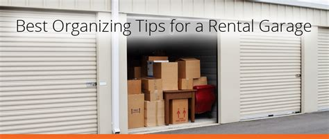 Apartment Finder Tips Best Organizing Tips For A Rental Garage Apartment