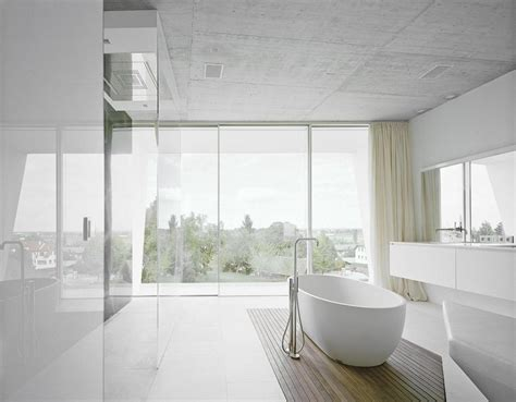 Modern White Bathroom Ideas by White Modern Bathroom Design Interior Design Ideas