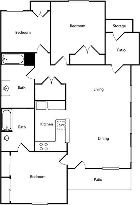 floor plan for 3 bedroom flat 100 three bedroom flat floor plan house ground