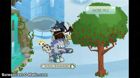 animal jam the cherry tree