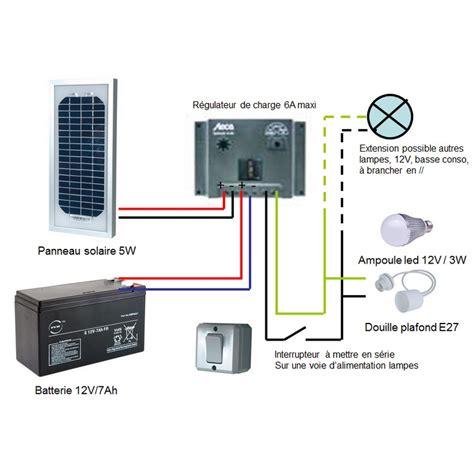 kit clairage intrieur solaire 5w sur solairepratique
