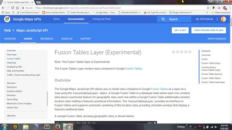 membuat tabel di email google tutorial cara membuat tabel di google fusion 1 youtube