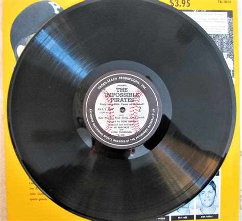 Pittsburgh Records Lot Detail Vintage The Impossible Pittsburgh Quot Record Album