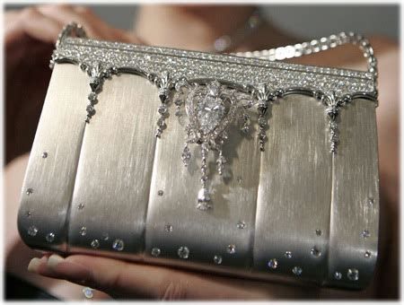 The 163 Million And Platinum Handbag by Studded Platinum Handbag 1 63 Million Purseblog