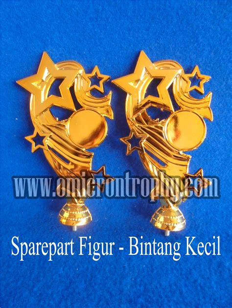 Piala Mini Trophy distributor bahan piala trophy plastik figur bintang