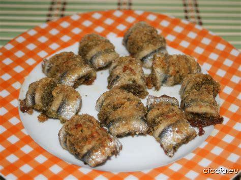 cucinare le alici al forno involtini di alici al forno ricette di cucina