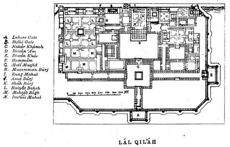 layout plan of red fort the red fort xviii additional photos maps of the red
