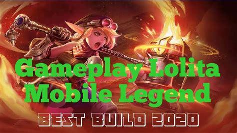 gameplay lolita tank terkuat  mobile legends mobile