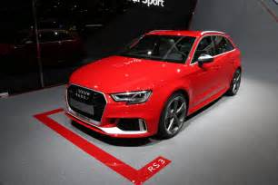 Rs3 Audi 2017 Audi Rs3 The Hyper Hatch Everybody Ignores In Geneva