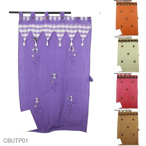 Gorden Pintu Bunga Pink gorden pintu tenun motif bunga bordir batik tirai pintu