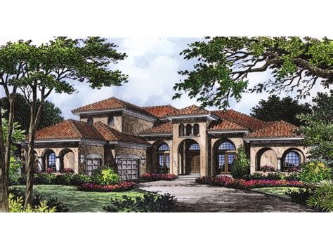 manor mediterranean home plan 047d 0063 house