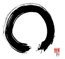Wall Stickers Circles zen circle five painting by peter cutler