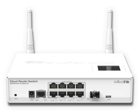 Router Mikrotik Wifi new product mikrotik cloud router switch 109 8g linitx