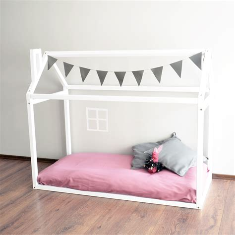 montessori toddler bed montessori toddler bed strong house bed shopkidday