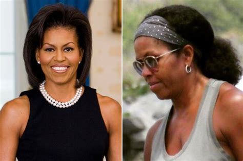 michelle obama extensions fans hail michelle obama as she steps out in her natural