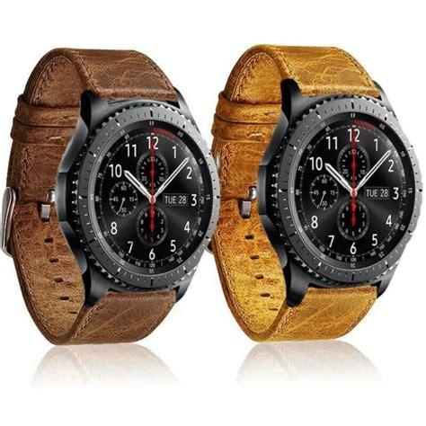 Tali Jam Watchband Gear S3 22mm grain genuine leather watchband bracelet