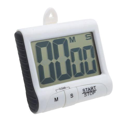 Timer Counter Digital magnet digital lcd kitchen count counter timer beeping alarm clock sbu
