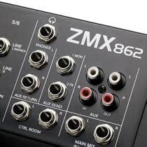 Alto Mixer Live Zmx862 alto professional zmx862 6 channel 2 mixer with 12 inputs 3 band eq per channel 48v
