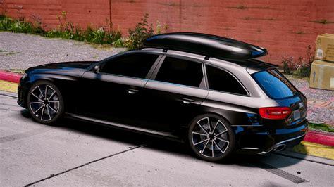 Audi Rs4 Avant by Audi Rs4 Avant 2013 Add On Tuning Gta5 Mods