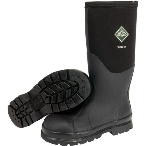 steel toe muck boots muck boots chore classic hi steel toe 264 shoes