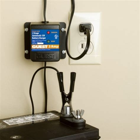 best marine battery charger maintainer guest 2603 marine battery maintainer charger 12 volt 3