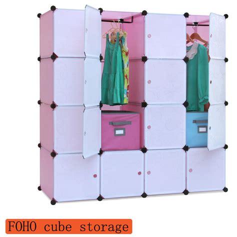 16 kubus plastik modern lemari baju dengan putih doorfh al0052 16 lipat furniture id
