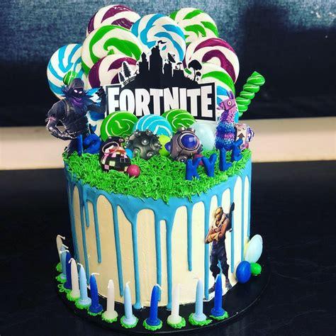fortnite drip cake  lollipops cakes