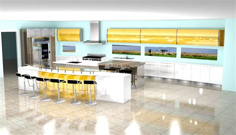 Blue Gloss Kitchen Cabinets by Blue Gloss Kitchen Cabinets Interior Design Ideas