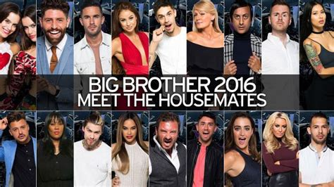 celebrity big brother 2016 contestants which stars are who is in big brother 2016 mirror online