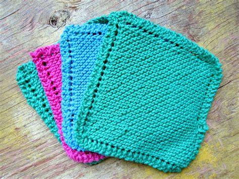 easy knit dishcloths knitted dishcloth tutorial knitting