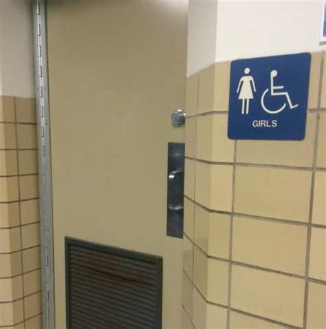 high school bathroom at westfield high school students use bathrooms of