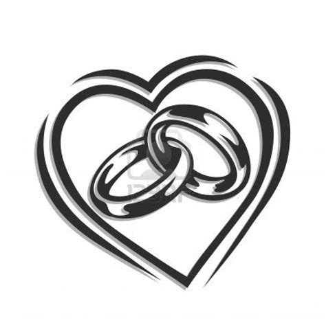 Wedding Rings With Hearts by Wedding Clipart Clipart Panda Free Clipart Images