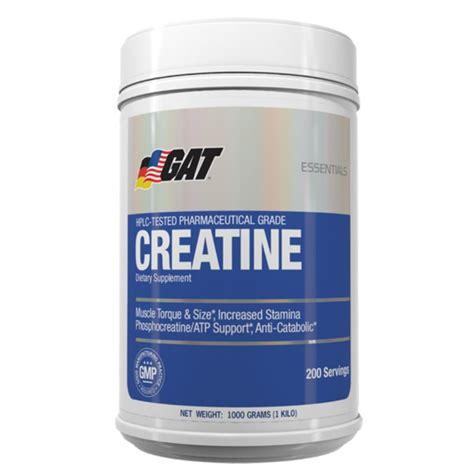 creatine loading gat creatine