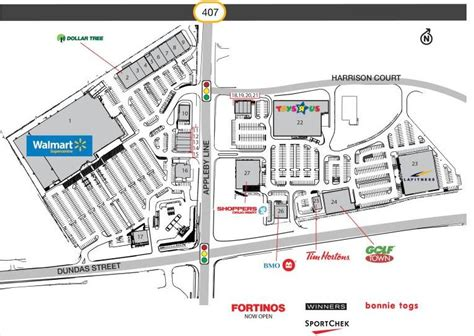 burlington mall map burlington smartcentre located in burlington ontario location hours store list