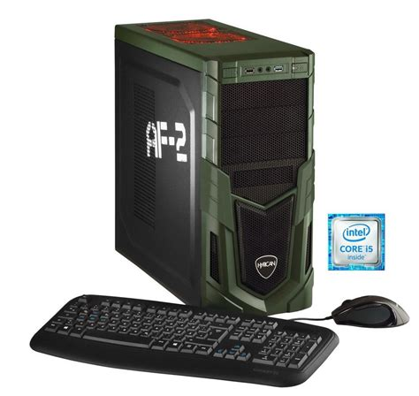 Hyrican Gaming Pc Intel 174 I5 6600 16gb 1tb Hdd Geforce Gaming Desk Tops