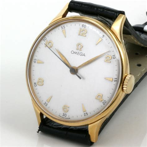 Omega Sidney buy 18ct vintage omega from 1947 sold items sold