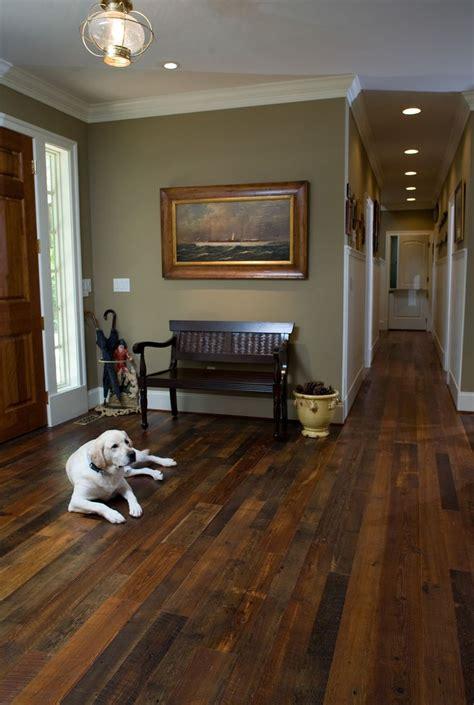 Flooring Home Improvement Project  Dark Wood