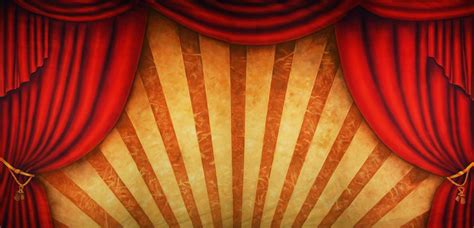 circus themed curtains curtain circus scenic stage backdrop rental theatreworld
