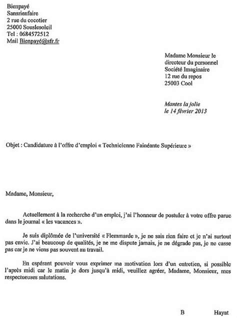 Lettre De Motivation Ecole Sport Lettre De Motivation Pour L 233 Cole
