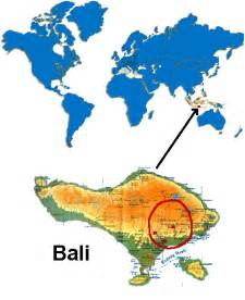 Bali On World Map by Map Of Bali Indonesia Images