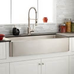 black stainless steel farmhouse 42 quot hazelton stainless steel farmhouse sink kitchen