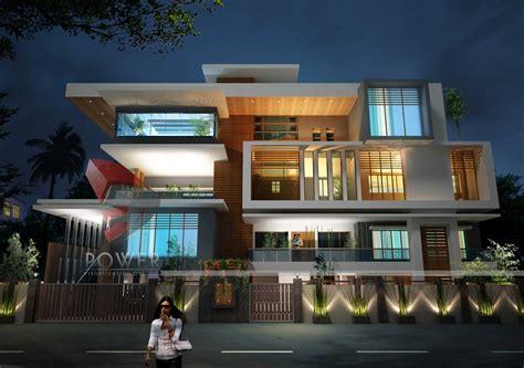 2 Floor Indian House Plans Ultra Modern Home Design October 2012