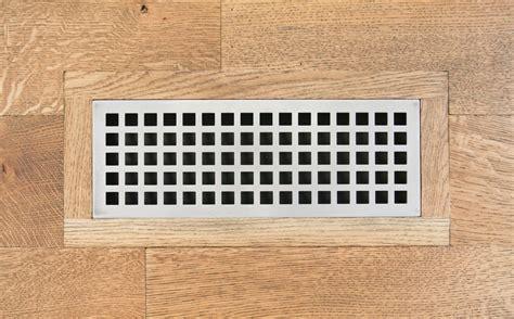 Eternal Grid Vent Register Flush Mount   Carbon Steel