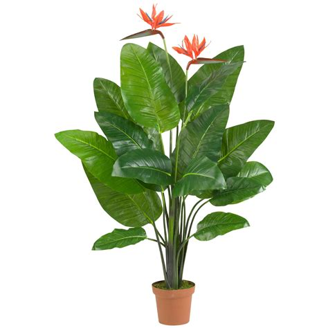 58 inch artificial bird of paradise plant potted 6576