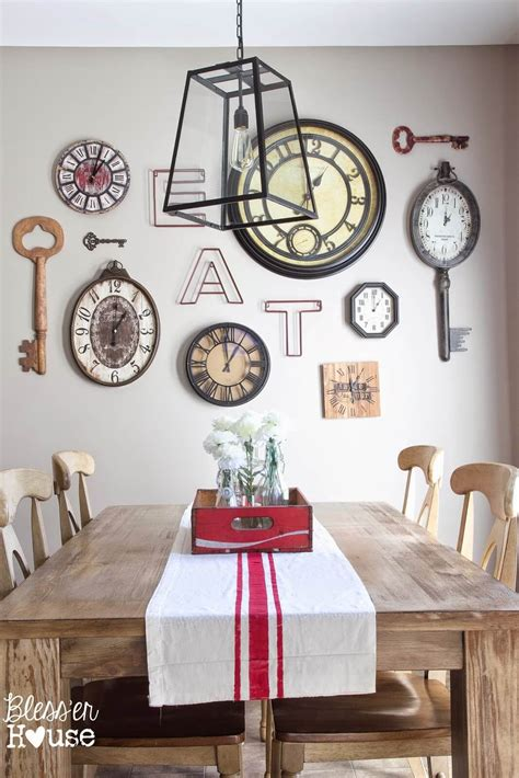 farmhouse wall decor 17 charming farmhouse dining room design and decor ideas