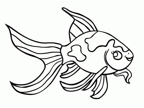 fish coloring page pdf goldfish betta fish coloring pages printable coloring book