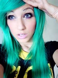 bright colored hair bright green hair hair colors ideas we it