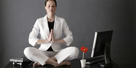Meditation Desk by Stress Busting You Can Do At Your Desk Huffpost