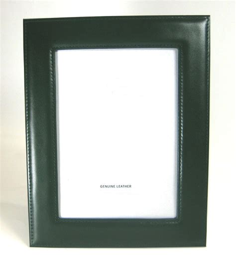 Decor Items genuine leather photo frame 5x7 picture 4 colors new ebay